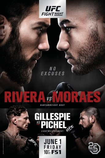 Poster of UFC Fight Night 131: Rivera vs. Moraes