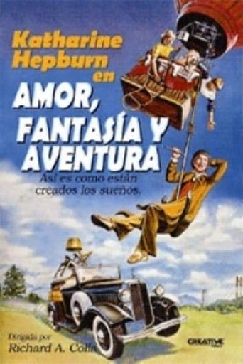 Poster of Amor, fantasía y aventura