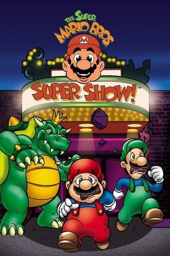 The Super Mario Bros. Super Show! poster