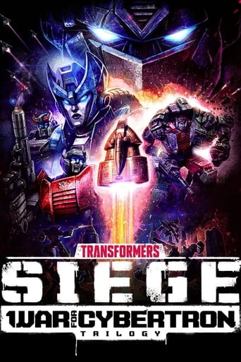 Transformers: War for Cybertron Trilogy Poster