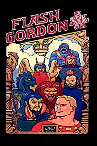 Poster of Flash Gordon, La Aventura Más Grande