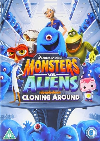 Poster of Monsters Vs Aliens: Cloning Around