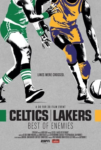 Poster of Celtics/Lakers: Best of Enemies