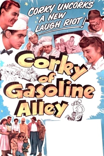 Poster of Corky of Gasoline Alley