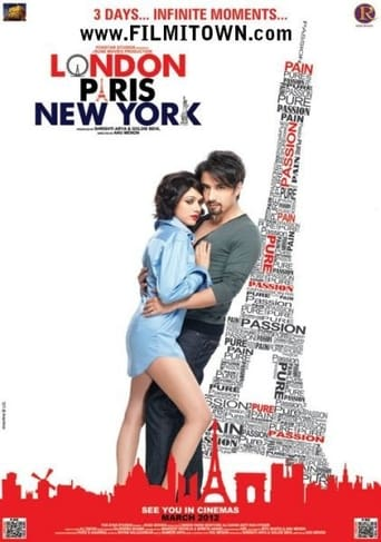 Poster of London, Paris, New York