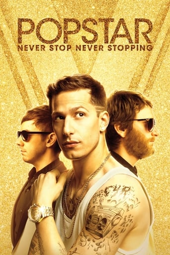 Poster of Popstar: Never Stop Never Stopping