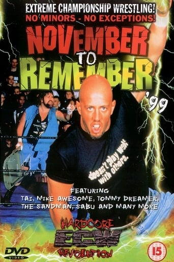 Watch ECW  November to Remember 1999 1999 full online free