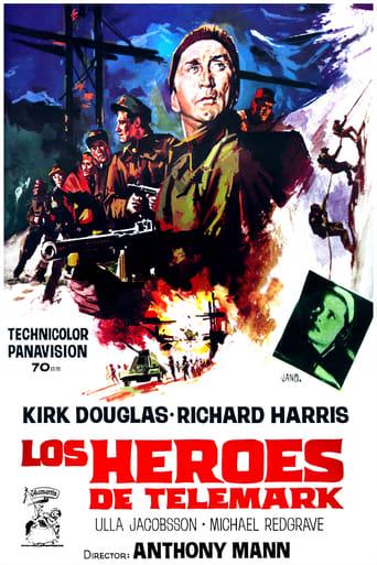 Poster of Los héroes de Telemark
