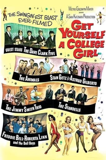 Poster of Get Yourself a College Girl