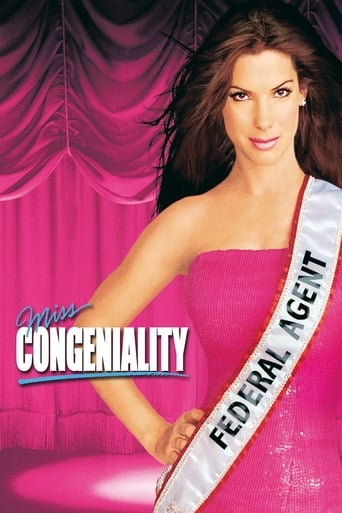 Official movie poster for Miss Congeniality (2000)