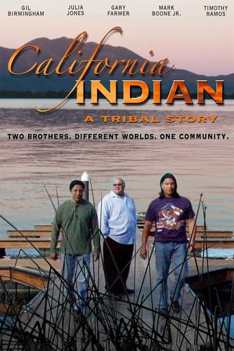 Poster of California Indian