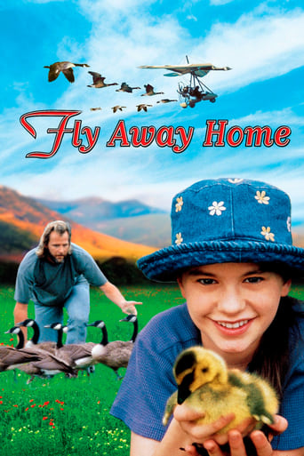 Fly Away Home (1996) - poster