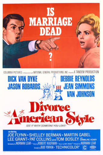 Poster of Divorce American Style