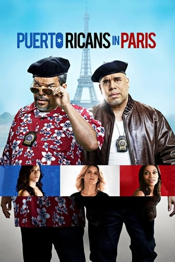 Poster of Puerto Ricans in Paris