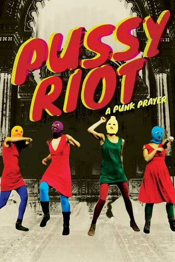Poster of Pussy Riot: A Punk Prayer