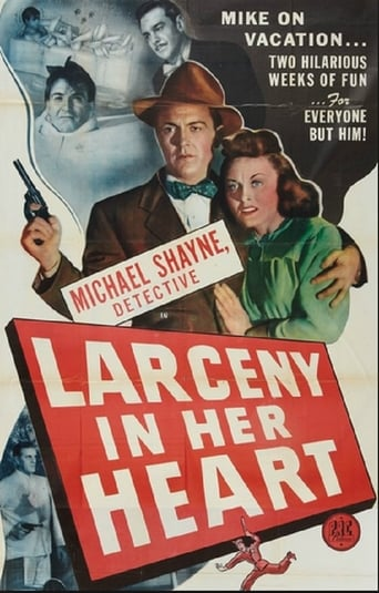 Poster of Larceny in Her Heart