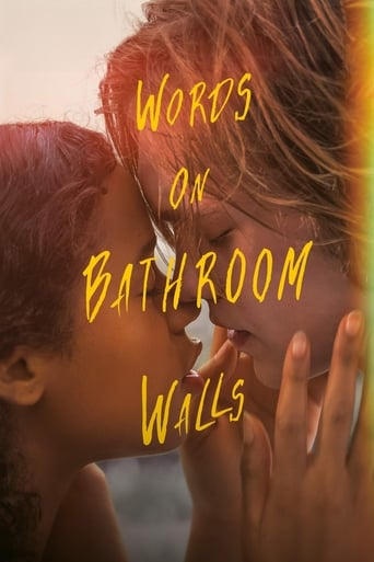 Words on Bathroom Walls Poster