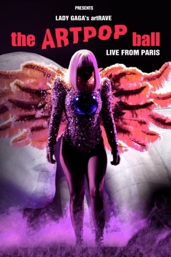 Poster of Lady Gaga's artRAVE - The ARTPOP Ball
