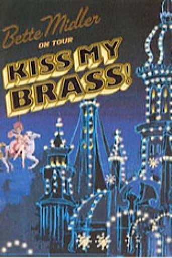 Poster of Bette Midler Kiss My Brass live at Madison Square Gardens