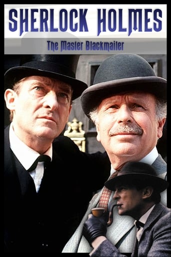 Poster of Sherlock Holmes - The Master Blackmailer
