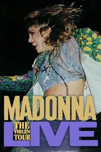 Poster of Madonna Live: The Virgin Tour