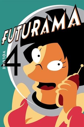 Futurama 4ª Temporada - Poster