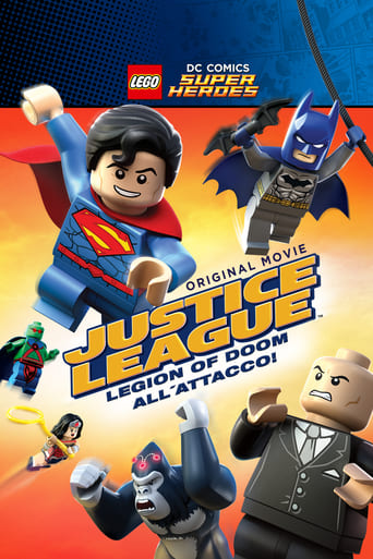 Cartoni animati Lego DC Comics Super Heroes - Justice League: Legion of Doom all'attacco! - LEGO DC Comics Super Heroes: Justice League: Attack of the Legion of Doom!
