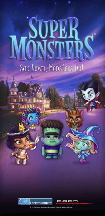 Die Supermonster - Tierisch gute Freunde Movie Poster