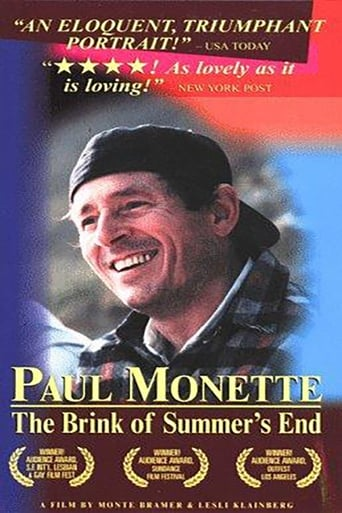 Poster of Paul Monette: The Brink of Summer's End