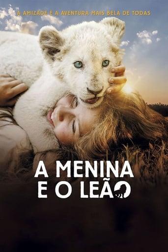 A Menina e o Leão - Poster