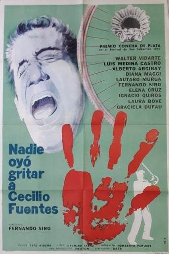 Watch Nadie oyó gritar a Cecilio Fuentes Free Movie Online