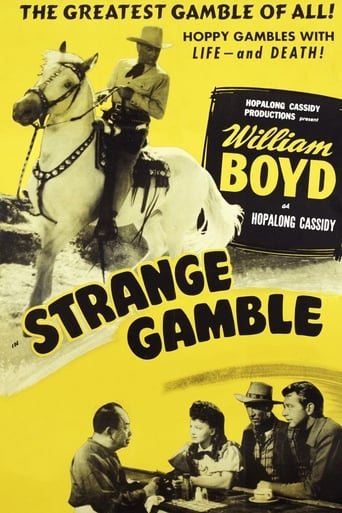 Poster of Strange Gamble