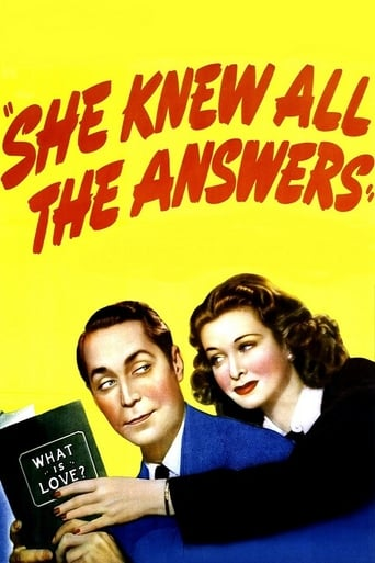 Poster of She Knew All the Answers