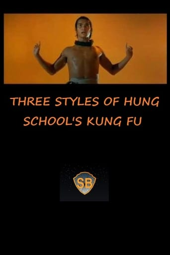 Poster of Three Styles of Hung School's Kung Fu