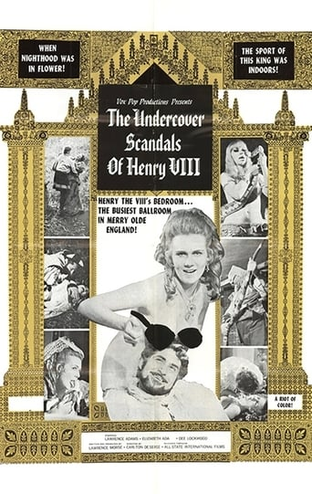 Poster of The Undercover Scandals of Henry VIII