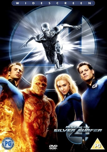 Fantastiškas ketvertas: sidabrinio banglentininko iškilimas / Fantastic 4: Rise of the Silver Surfer (2007)