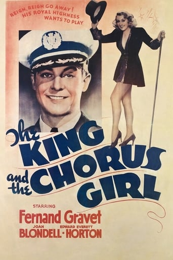 Poster of The King and the Chorus Girl