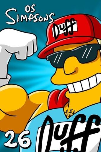 Os Simpsons 26ª Temporada - Poster
