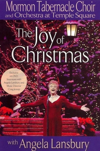 Poster of Mormon Tabernacle Choir Presents The Joy of Christmas with Angela Lansbury