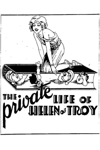 Poster of The Private Life of Helen of Troy