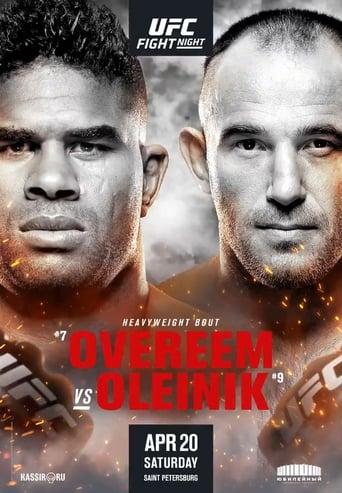 Poster of UFC Fight Night 149: Overeem vs. Oleinik