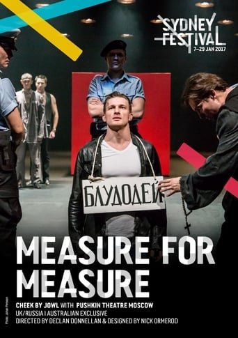 Poster of Cheek by Jowl: Measure for Measure