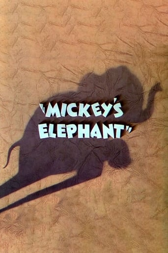 Poster of Mickey's Elephant