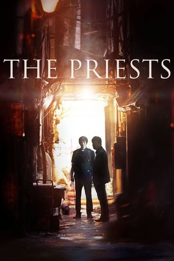 The priests streaming