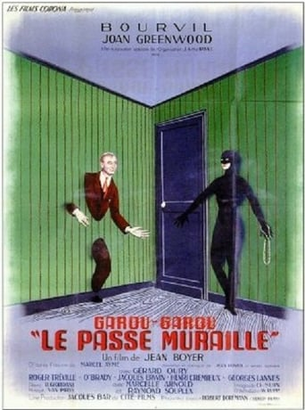 Poster of Le passe-muraille
