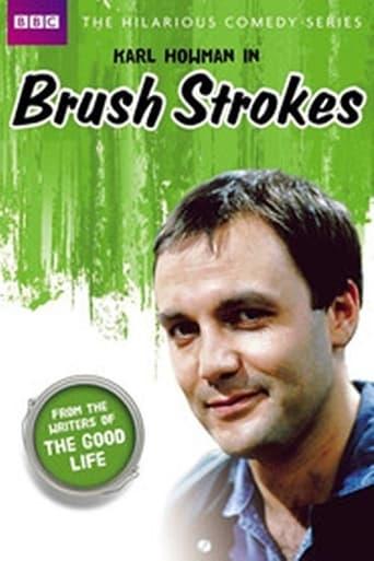 Poster of Brush Strokes