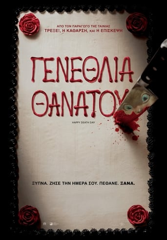 Poster of Happy death day (Γενέθλια Θανάτου)