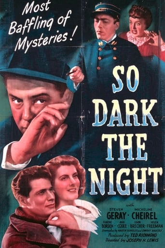 Poster of So Dark the Night