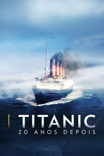 Titanic: 20 Years Later with James Cameron - Poster