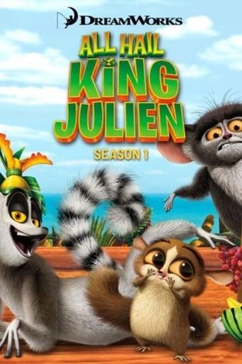 Saúdem Todos o Rei Julien 1ª Temporada - Poster